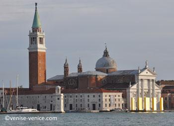 Après la giudecca , san giorgio Maggiore est le dernier arrêt avant san marco