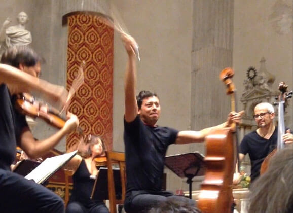 les quatre saisons de Vivaldi, interpretées par l'orchestre interpreti veneziani