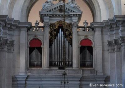 L'orgue de la basilique