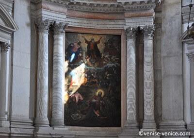Les peintures sublimes de la basilique