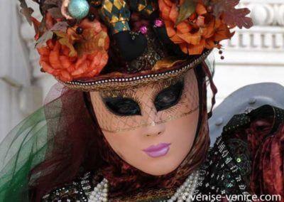 Gros plan sur le carnaval de Venise