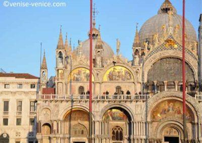 La basilique saint marc,à visiter à Venise