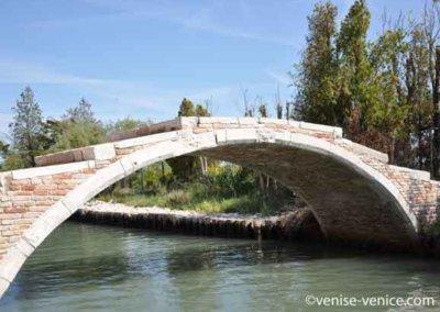 Le ponte della diavola à Torcello