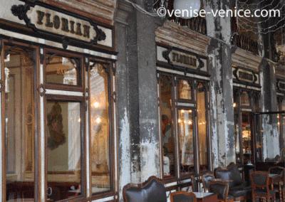 Le célèbre café florian à Venise