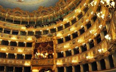 La Fenice, l'opéra de Venise est splendide ! A visiter absolument