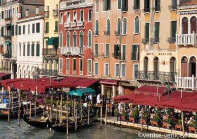 Hotel marconi sur le grand canal à Venise