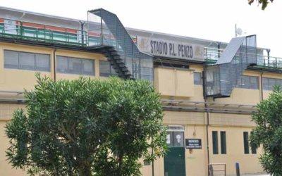 Le stade de foot Pier Luigi Penzo à Venise.