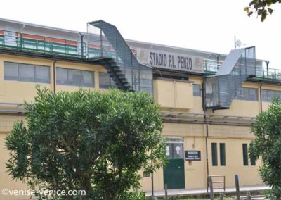 Vue sur le stade Pier Luigi Penzo