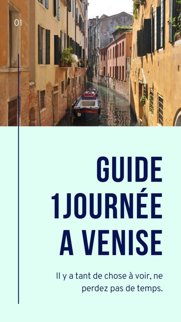 Couverture du guide 1 journée à Venise spécial smartphone